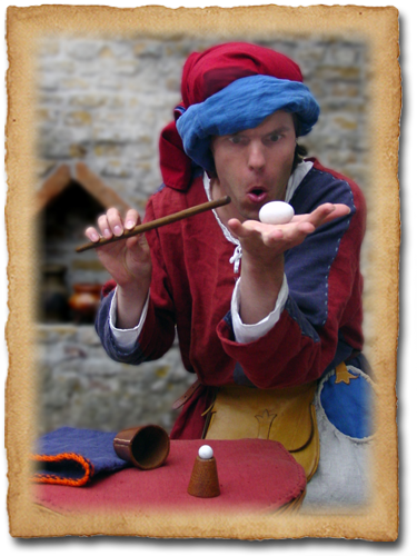 Jannes de Goochelaar 14e eeuws middeleeuws goochelaar