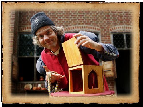 Jannes de Goochelaar 15e eeuws middeleeuwse goochelaar