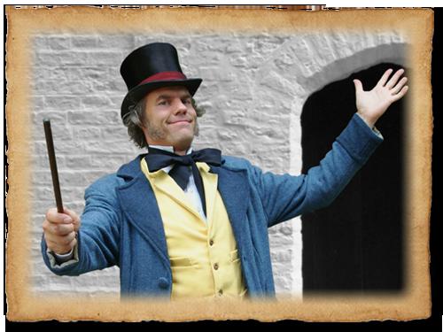 Jannes de Goochelaar 19e eeuws Dickens Goochelaar