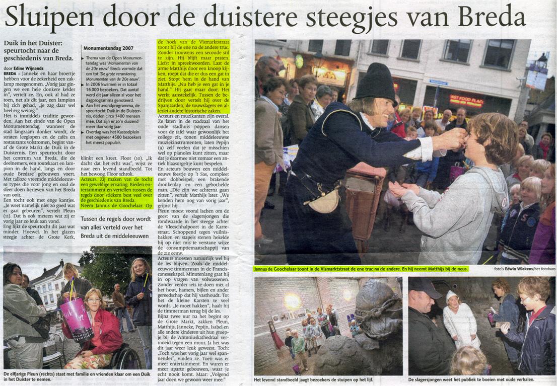 krantenbericht Breda 2017